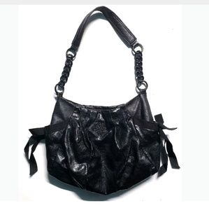 Simply Vera Vera Wang Hand Bag Purse Black
